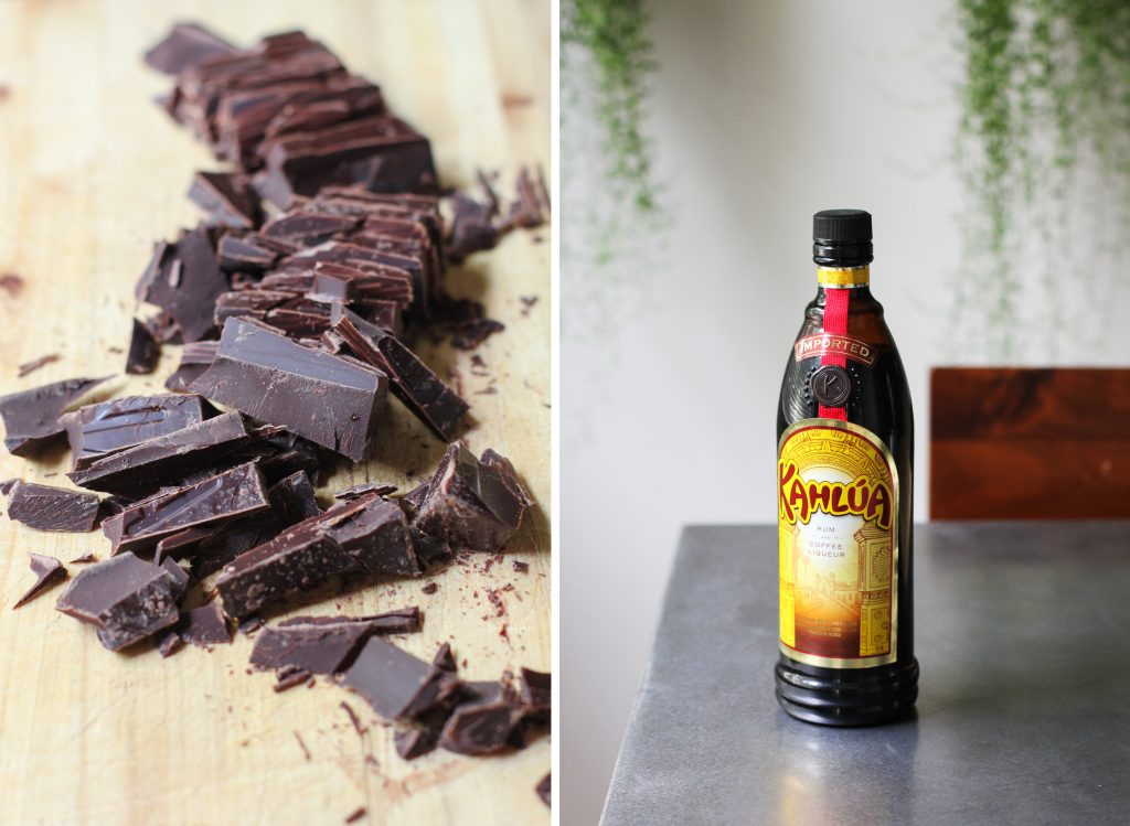 Chocolate and Kalhua
