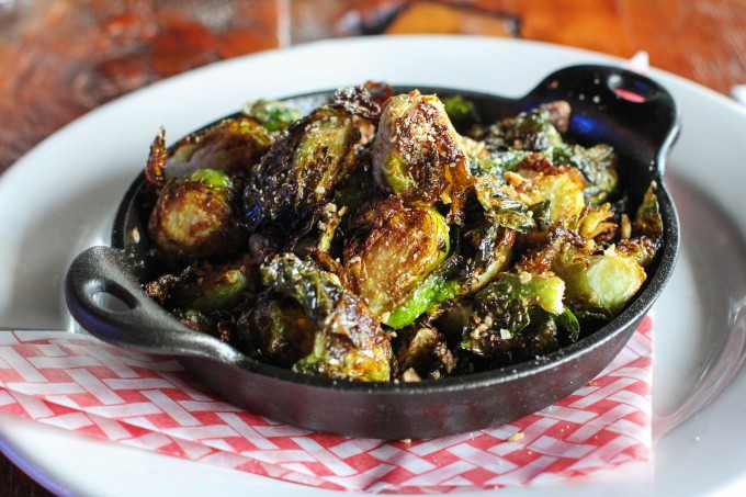 Gingham S Fried Brussels Sprouts