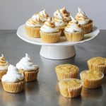 Maple Cupcakes with Marshmallow Frosting