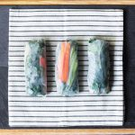 Kale and Avocado Summer Rolls