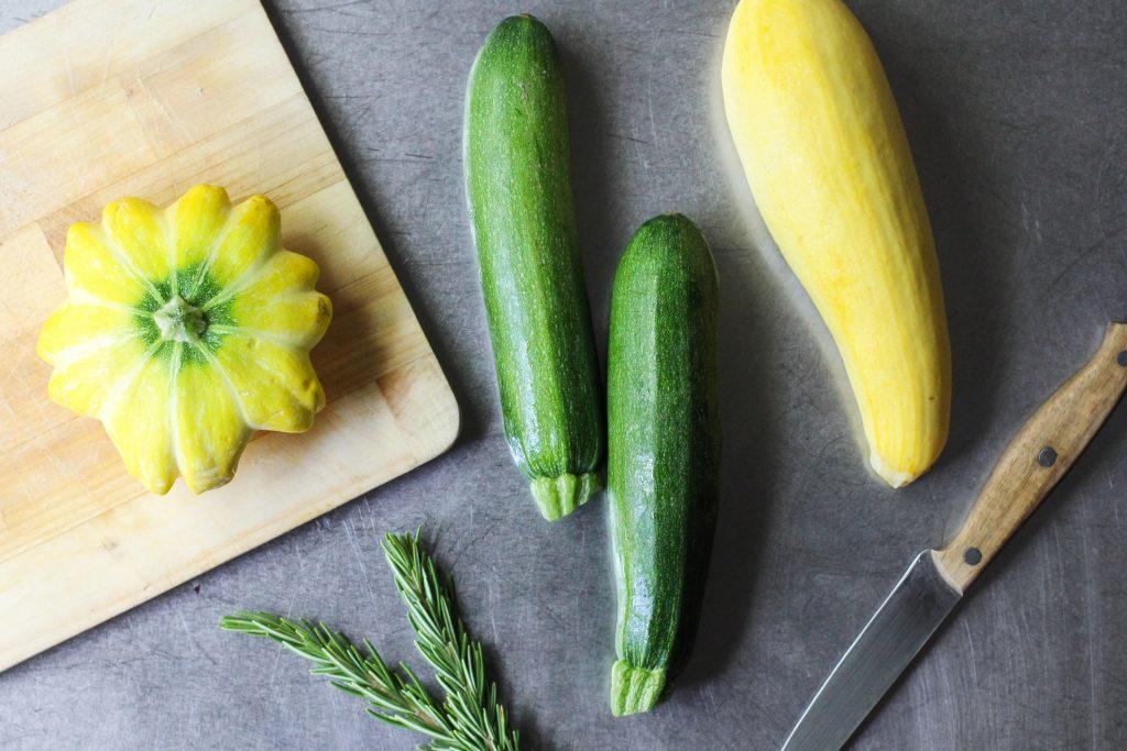 Zucchini and Rosemary