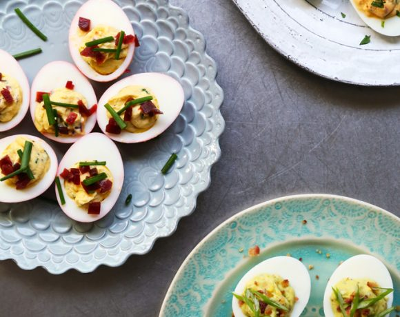 Deviled Eggs 3 Ways