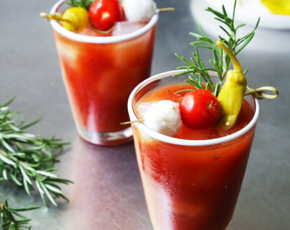 Roasted Garlic Bloody Mary