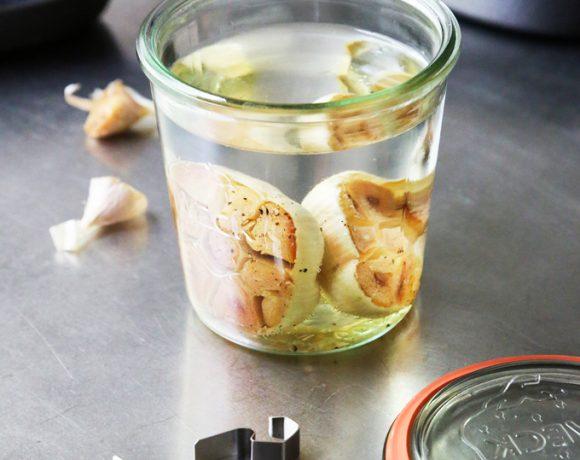 Roasted Garlic Infused Vodka