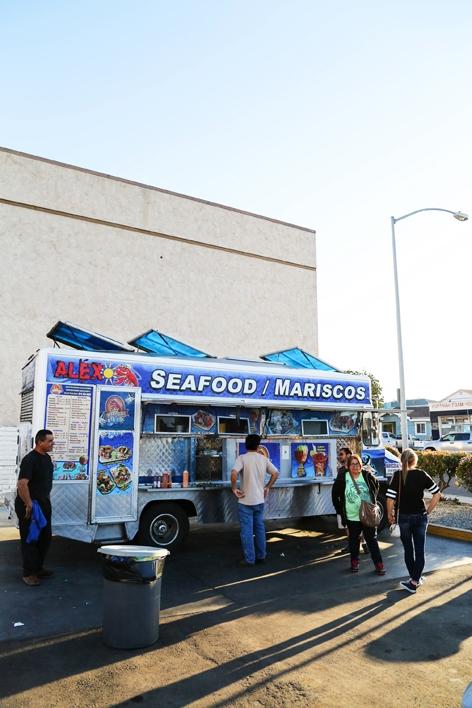 Mariscos Alex Food Truck