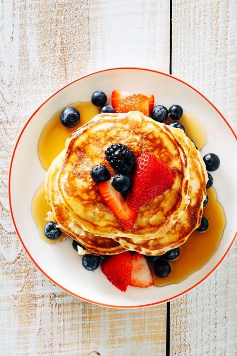 Fluffy Cardamom Pancakes