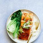 Plum Glazed Salmon
