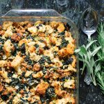 Kale and Sausage Stuffing