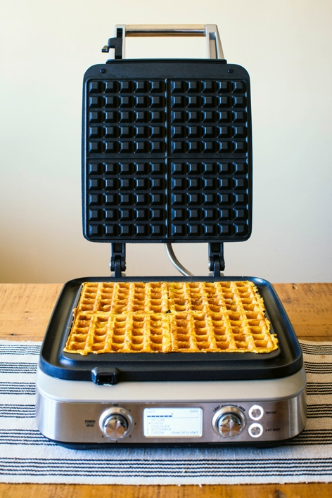 Waffles Cooking