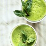 Mint and Green Tea Smoothie
