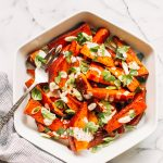 Roasted Sweet Potatoes with Honey, Smoked Paprika and Lime Yogurt