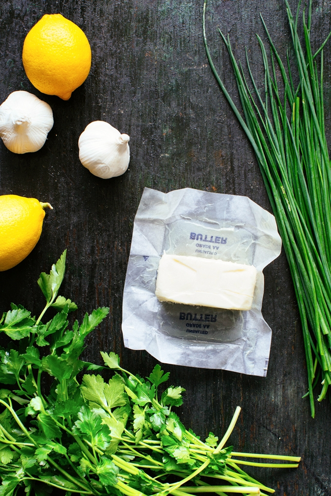 Garlic Herb Butter Ingredients
