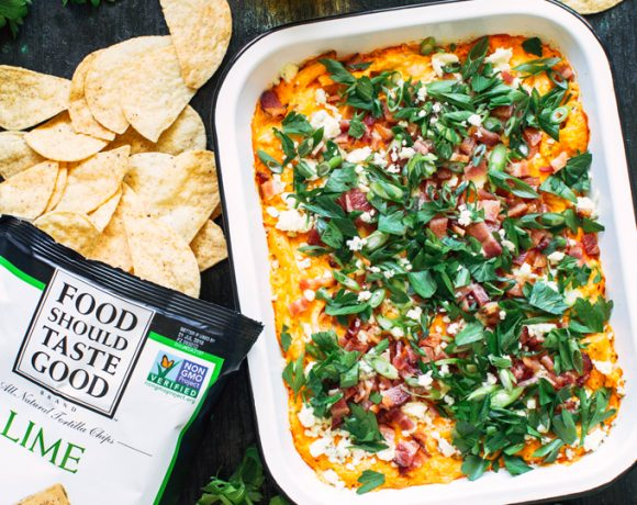 Bacon and Scallion Buffalo Chicken Dip Recipe