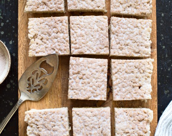 Churro Rice Krispie Treats
