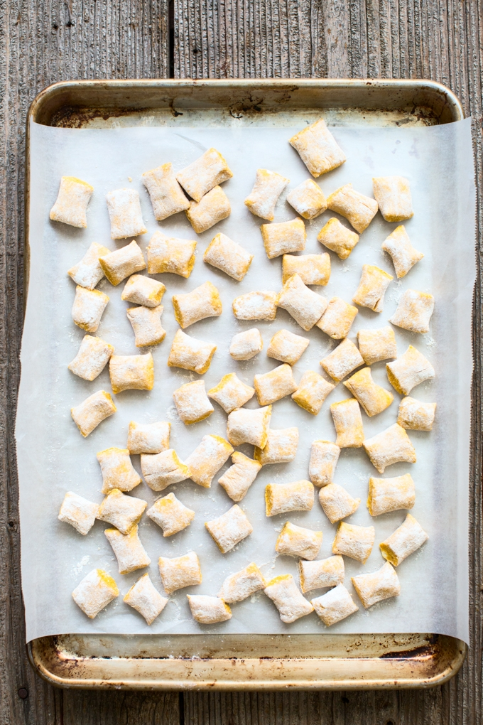 Pumpkin Ricotta Gnocchi with Rosemary Brown Butter Sauce ...