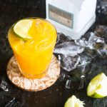 Easy Passion Fruit Margarita