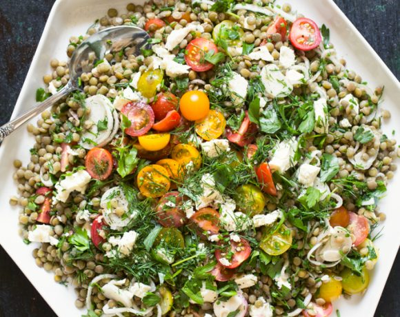 Tomato and Lentil Salad
