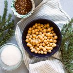 Rosemary, Red Chile and Sea Salt Roasted Chickpeas