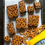 Salted Pretzel and Stout Brownies Recipe