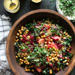 Superfood Salad with Easy Roasted Chickpeas Recipe