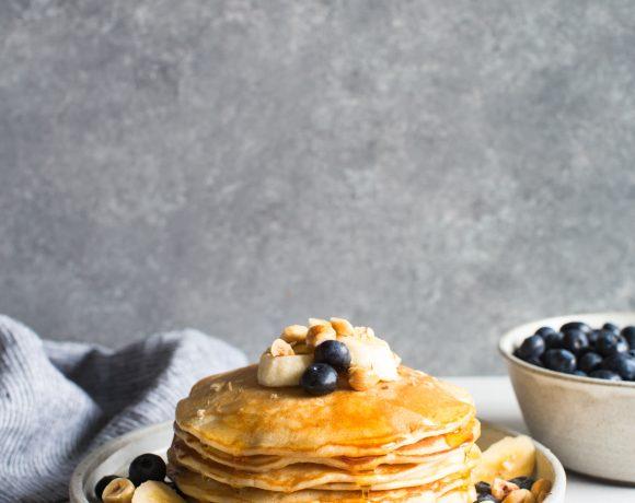 Creme Fraiche Pancakes Recipe