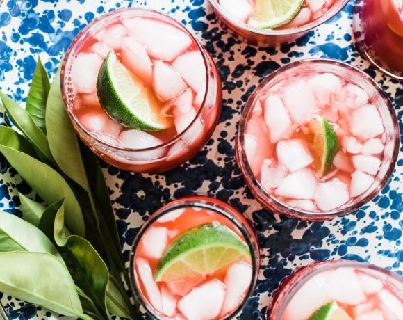 Smoky Blood Orange Margarita Recipe