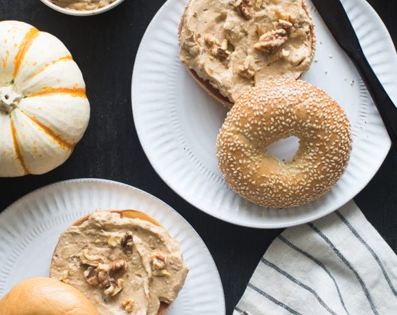 Pumpkin Spice & Toasted Walnut Cream Cheese