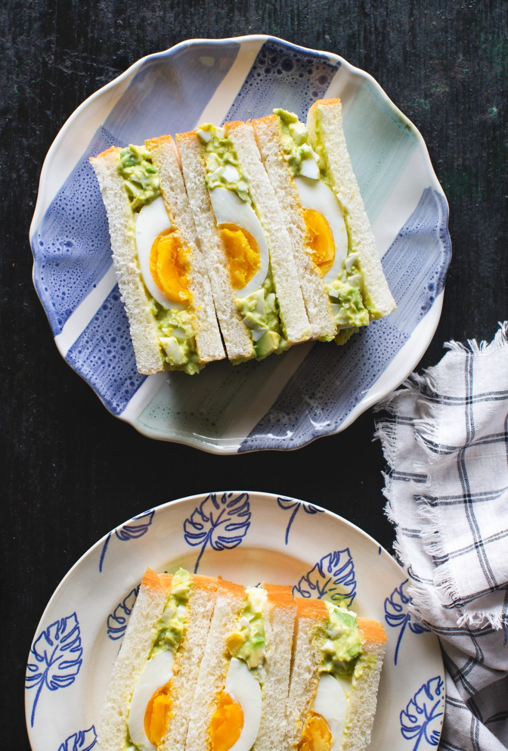 Avocado Egg Salad Sandwich