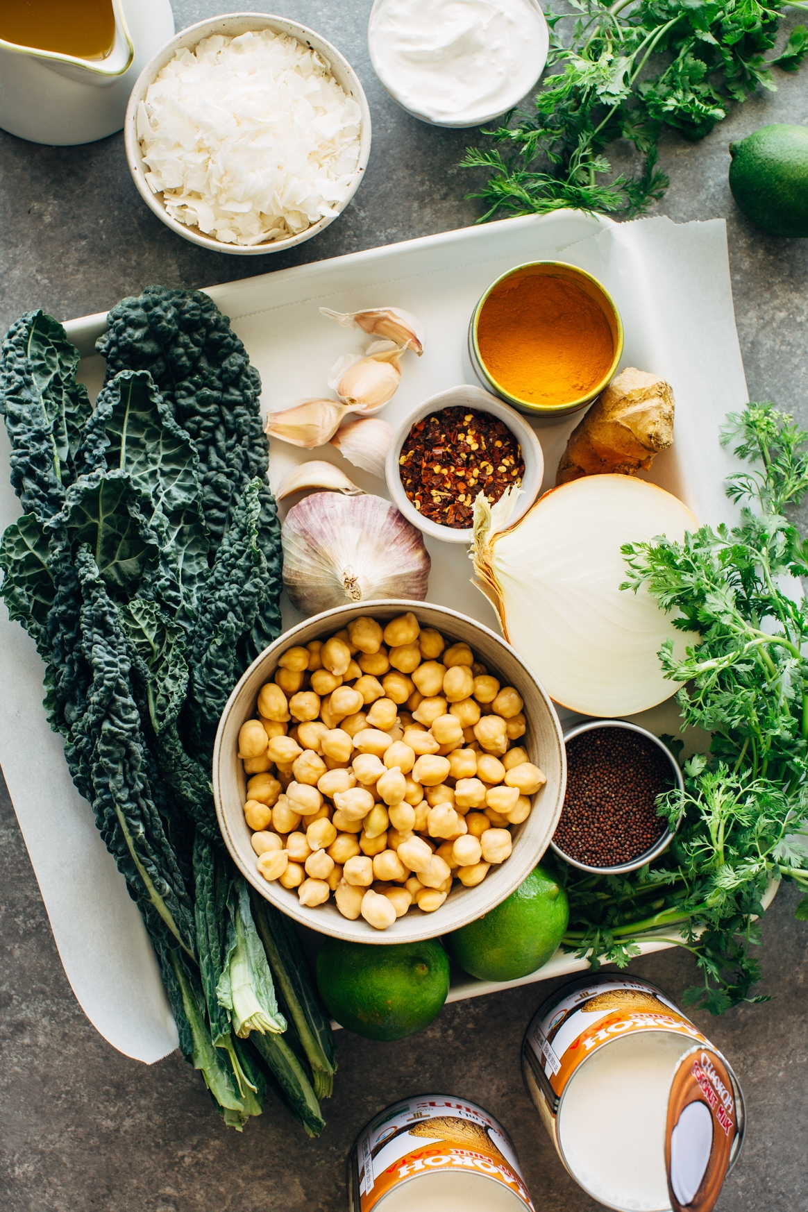 Spiced Chickpea Stew Ingredients