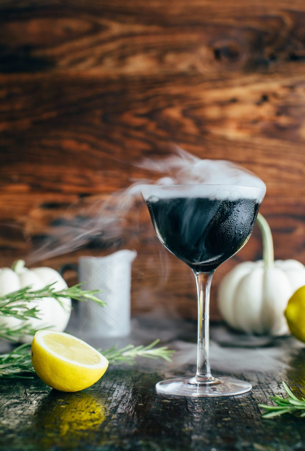 Midnight Fog, a Halloween Cocktail Recipe