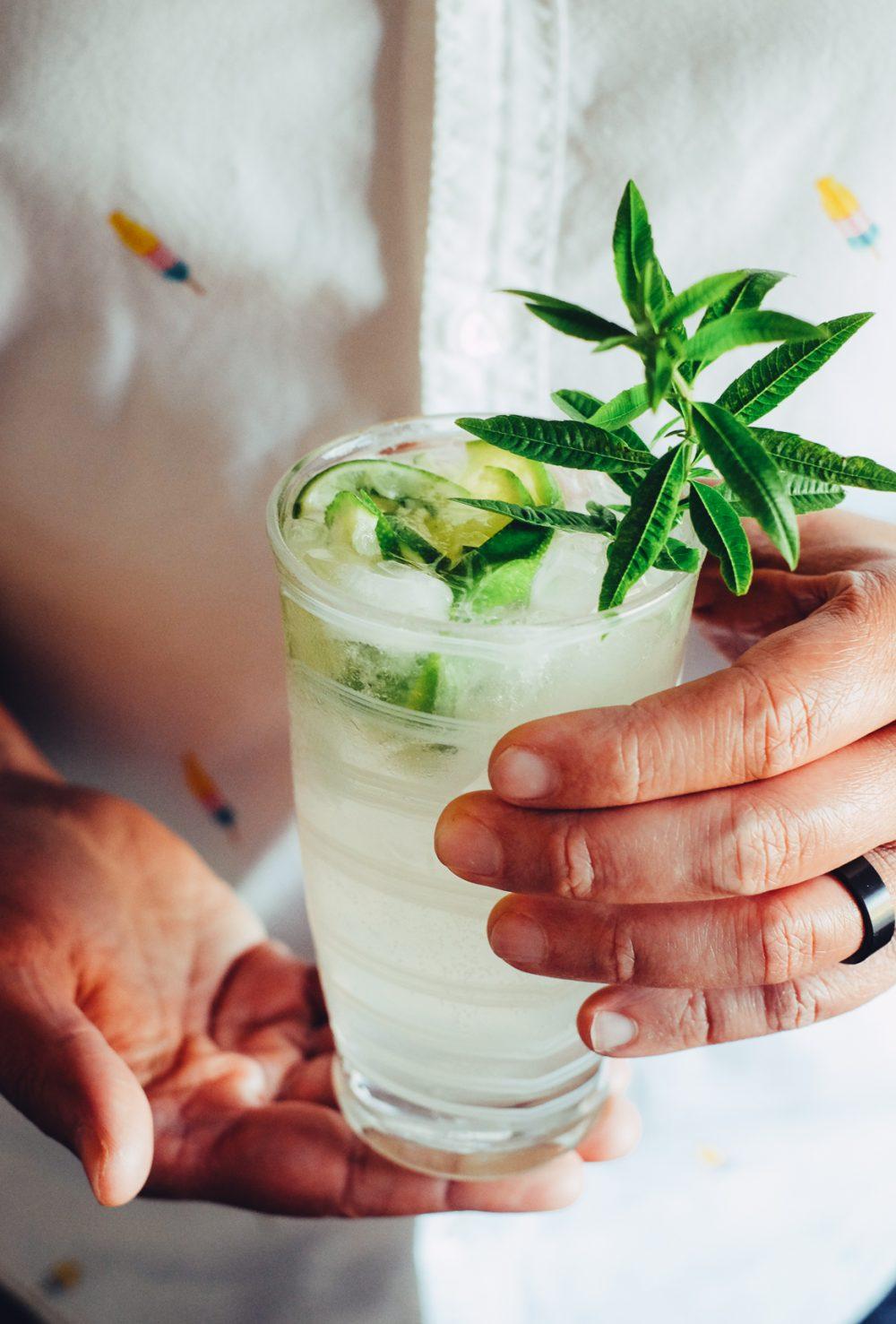 Lemon Verbena Gin and Tonic Recipe