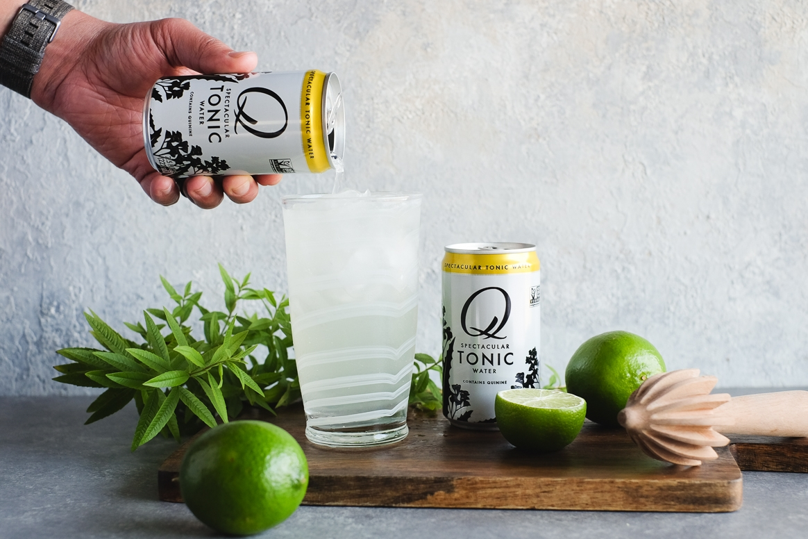 Lemon Verbena Gin and Tonic