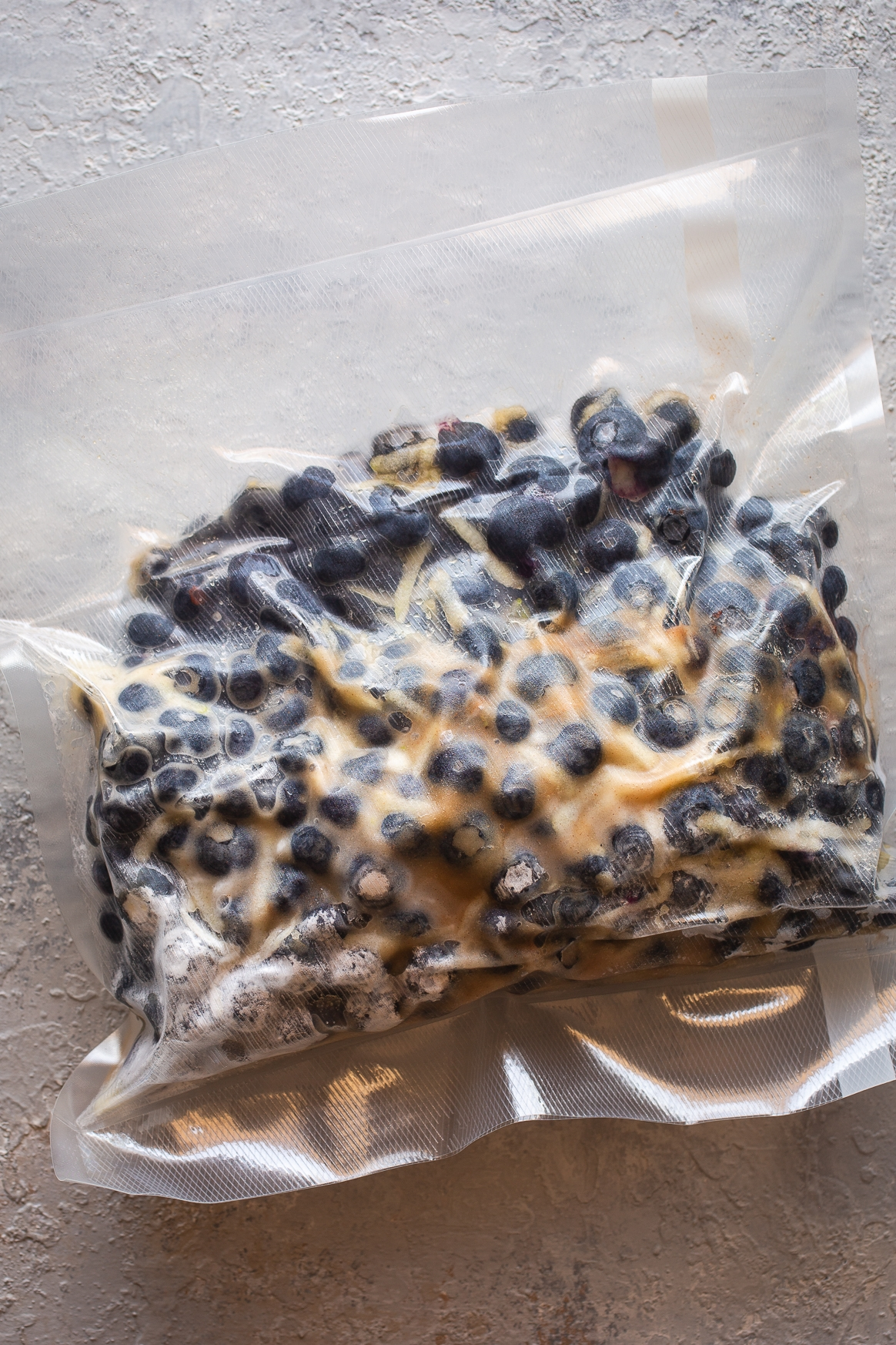 Sous Vide Blueberry Pie Filling