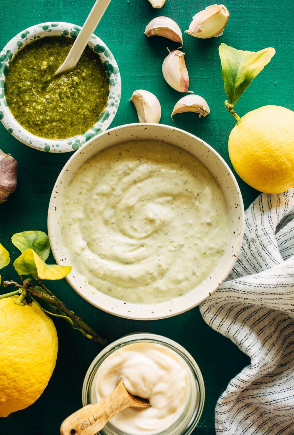 Pesto Aioli Recipe