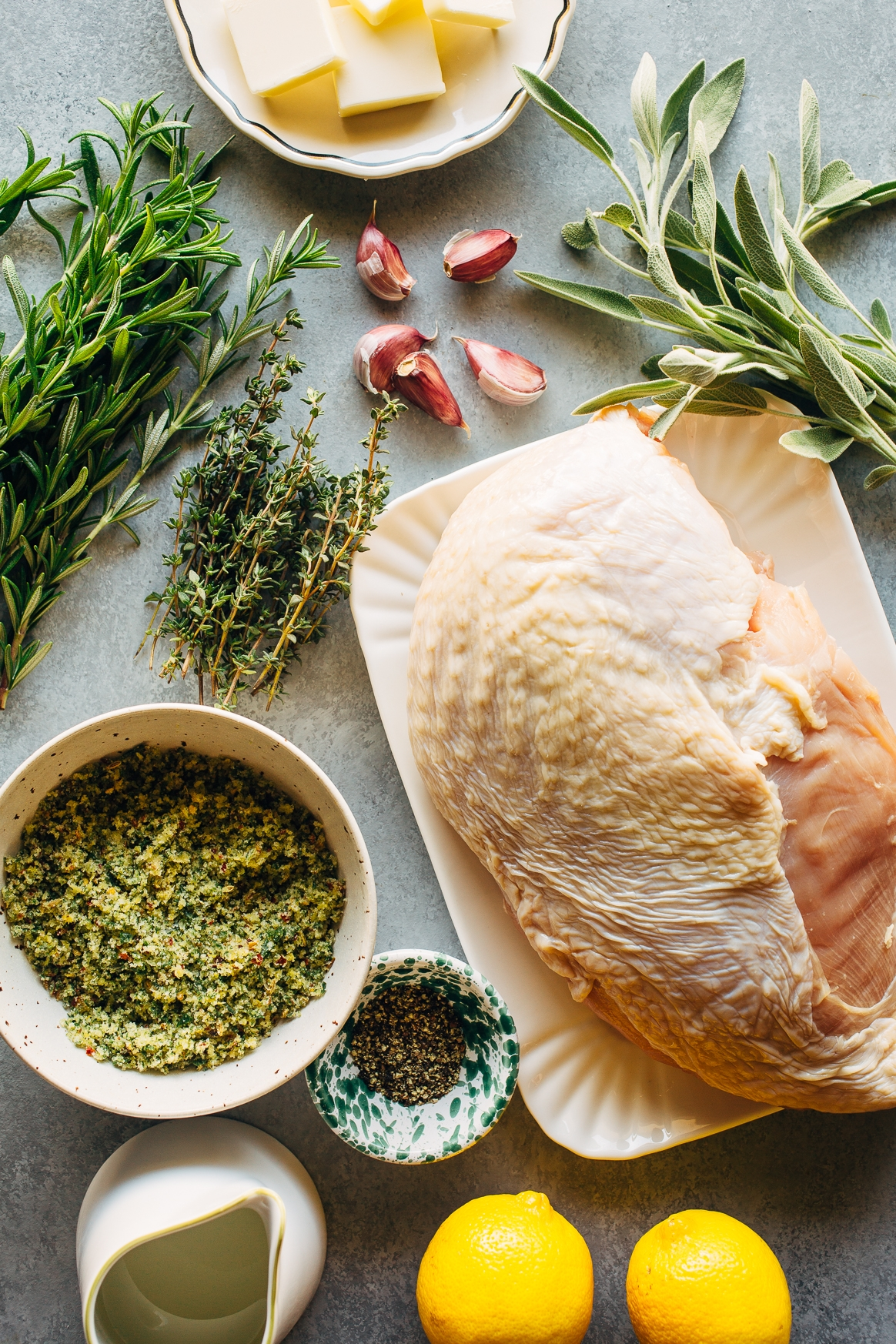 Herb-Roasted Turkey Breast Ingredients