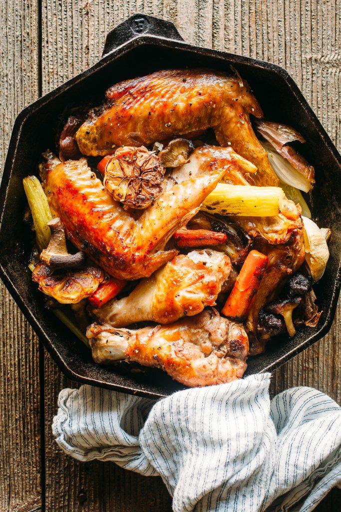 Roasted Turkey and Aromatics