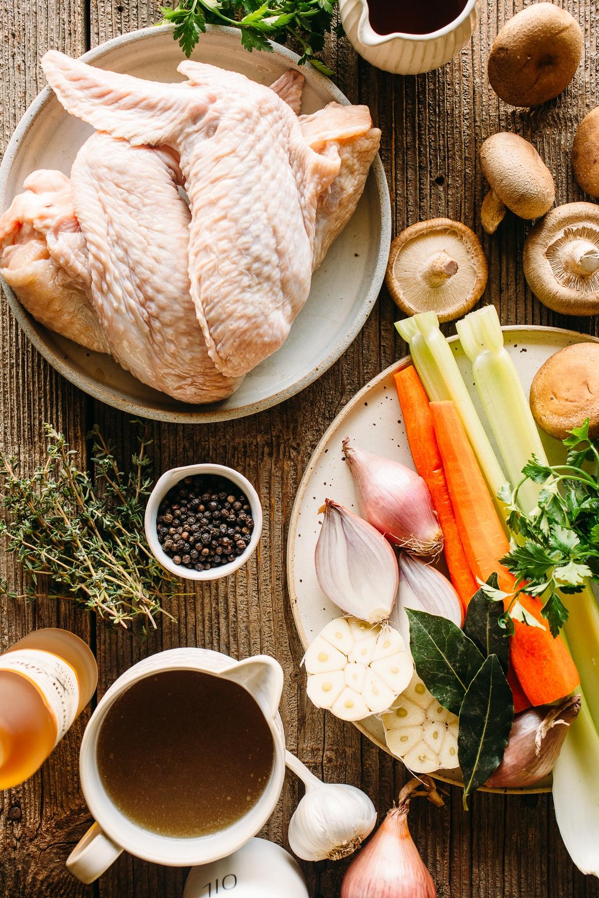 Turkey Gravy Ingredients