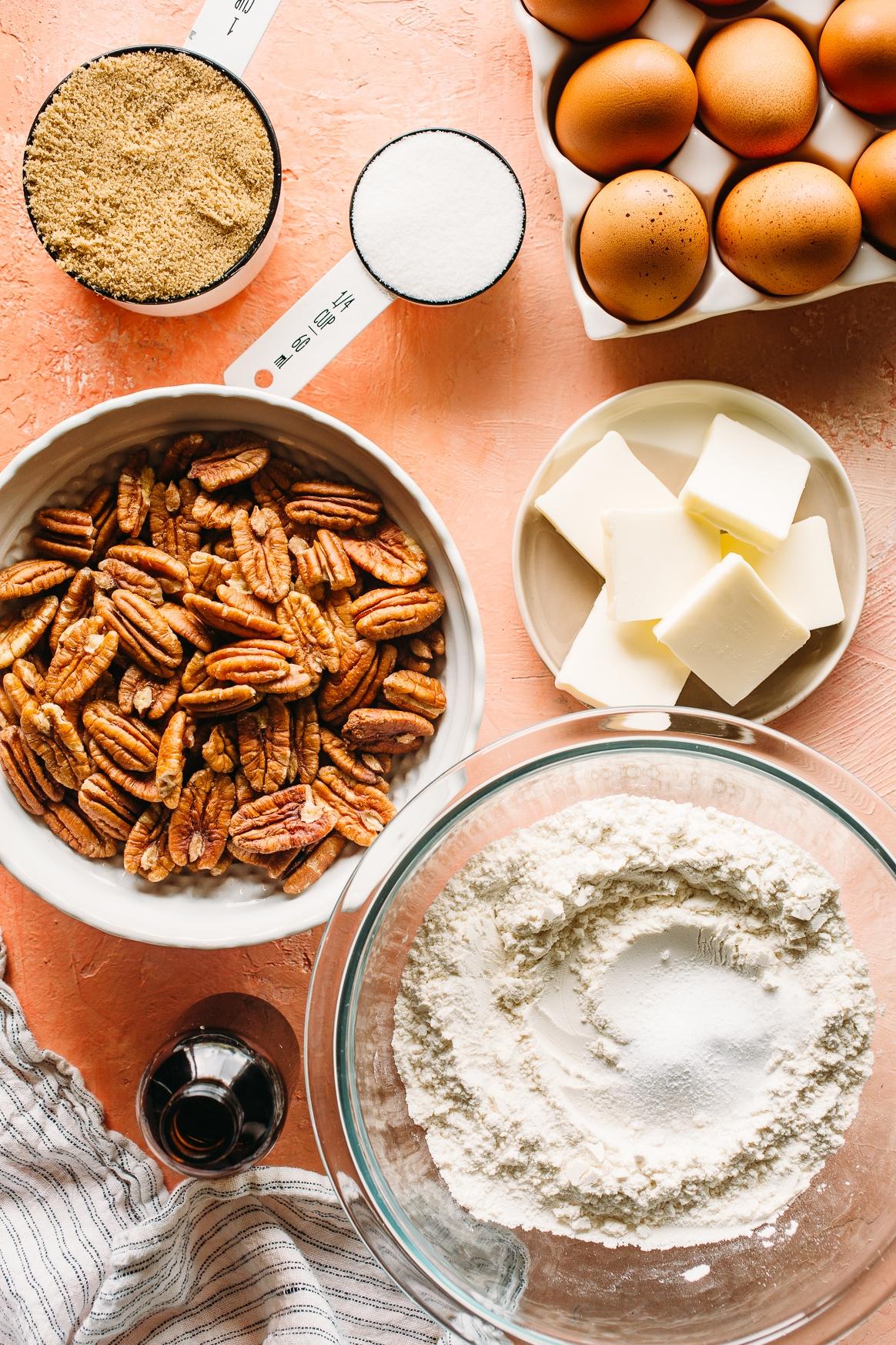Brown Butter Pecan Cookies Ingredients