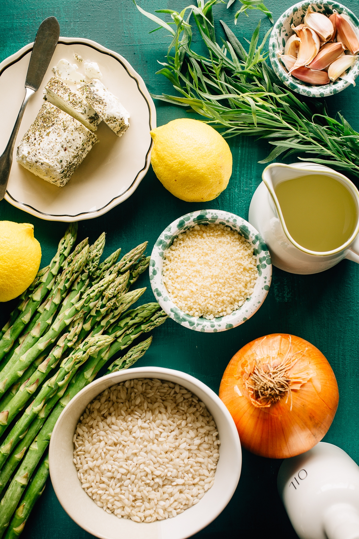 Asparagus Risotto Ingredients
