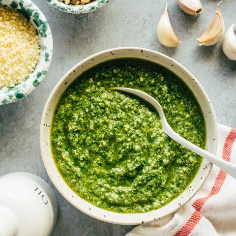 Basil Pesto Recipe