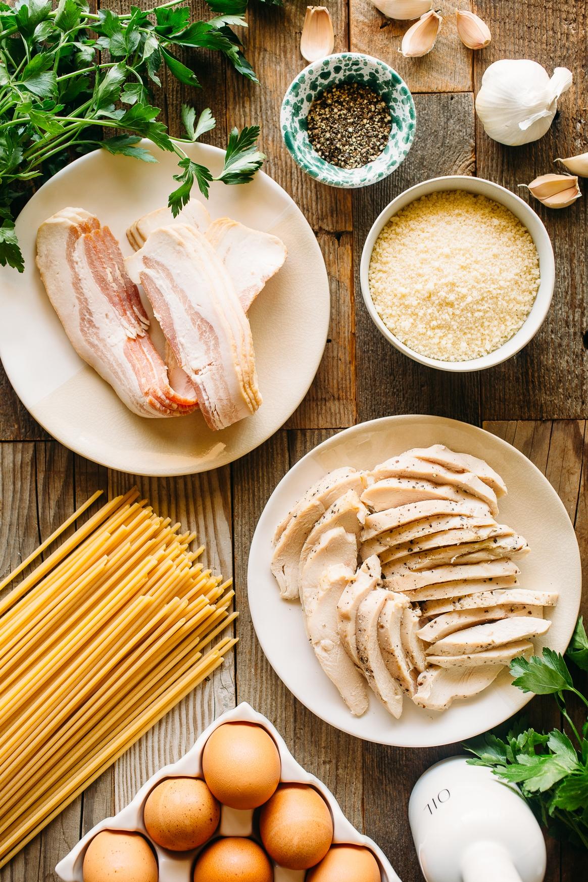 Chicken Carbonara Ingredients